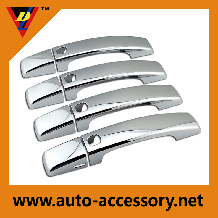 Chrome car door handle covers