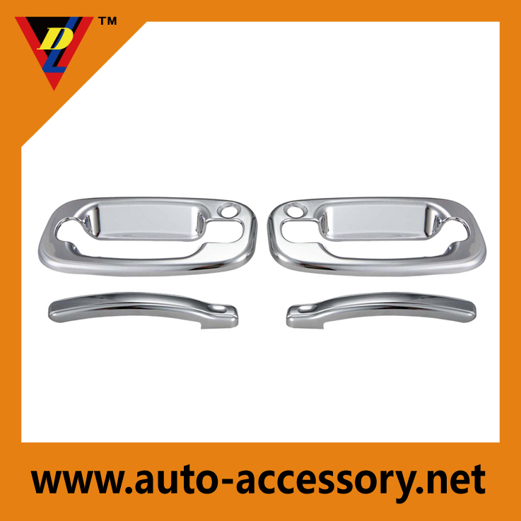 Chrome door handle cover chevy