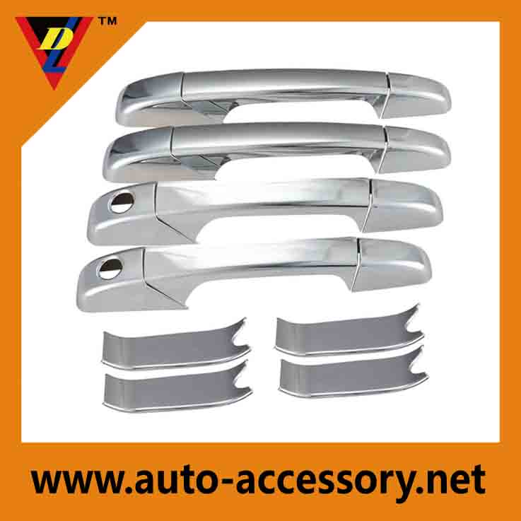 Chrome door handle cover chevy avalanche accessories