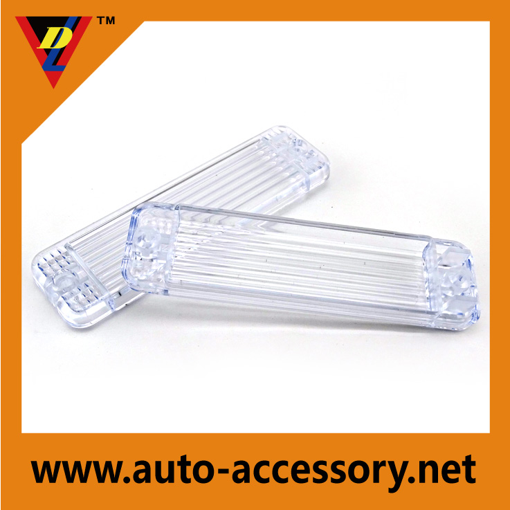 Trasparent side indicator light cover for VW golf 1