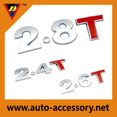 2.8T 2.4T 2.6T all brands of car stickers design