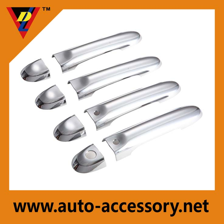 ABS Chrome Door Handle Cover Trims For Cube Micra/March Juke 2009-2015