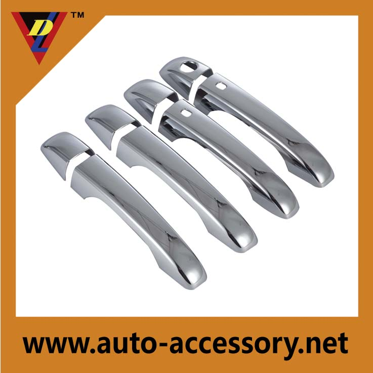 Chrome car door handle covers 2012 chrysler 300 parts