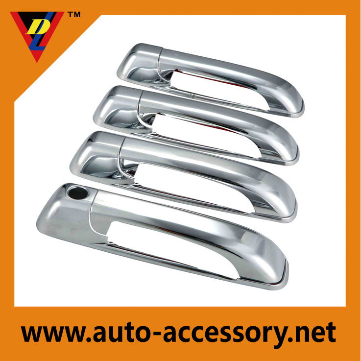 Chrome car door handle cover ca