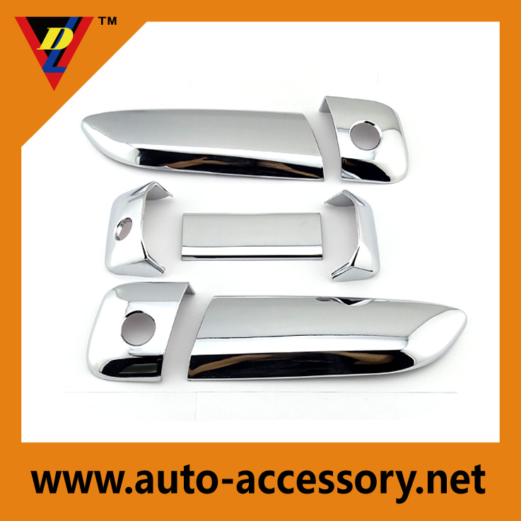 Chrome outside door handles of toyota hiace body parts
