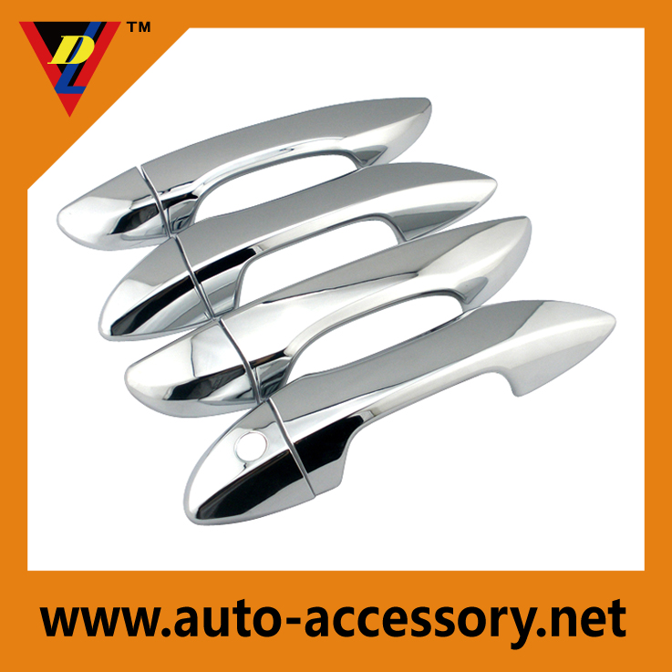 Chrome door handle cover for 2014 2015 toyota corolla parts