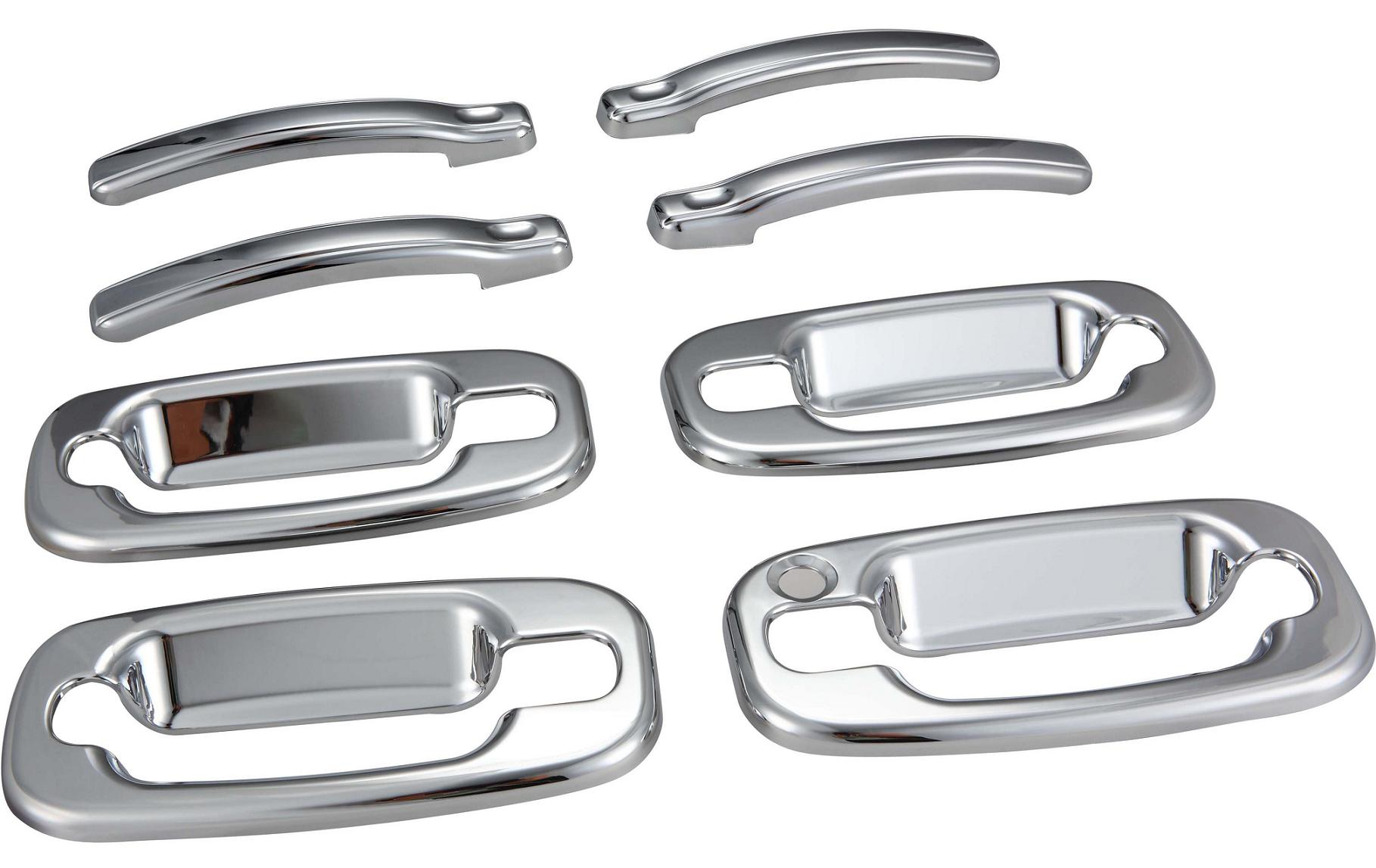 Ford F150 Parts And Accessories The chrome door handle trim enhances the look of your Door Handles ...
